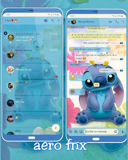 Stitch Theme For YOWhatsApp & Fouad WhatsApp By Ave fénix