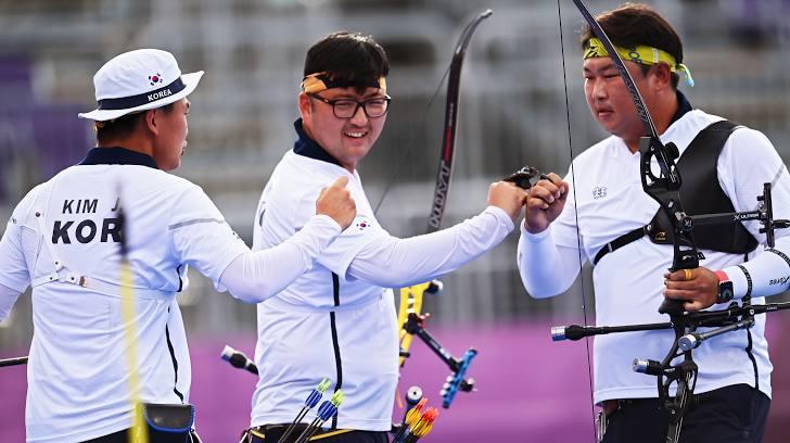Coreia do Sul tiro com arco