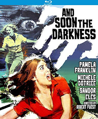 Blu-ray cover art for Kino Lorber's Special Edition of AND SOON THE DARKNESS!