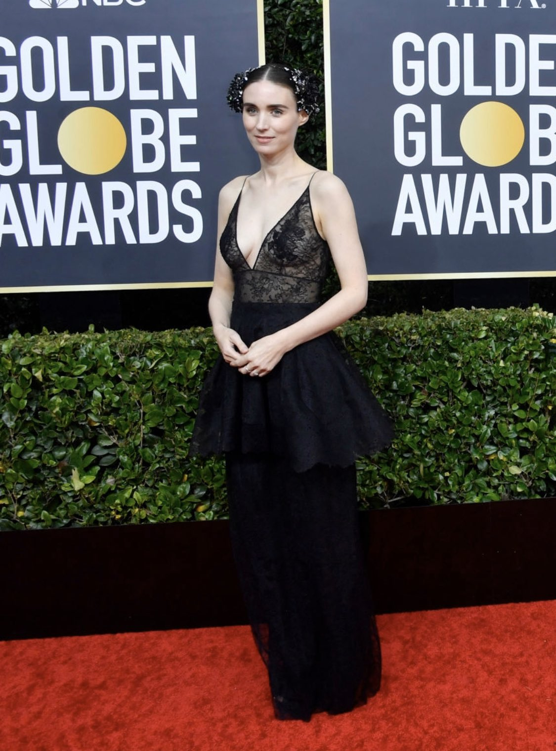 Rooney Mara attends the 77th Annual Golden Globe Awards