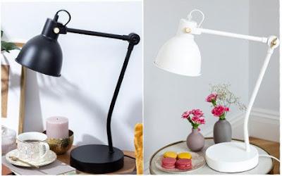 Lampa stołowa retro z Biedronki