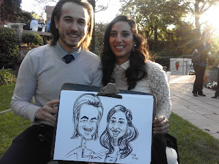 caricature drawing at wedding Johannesburg South Africa