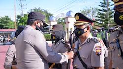 Empat Pejabat Polres Langsa Lakukan Acara Serah Terima