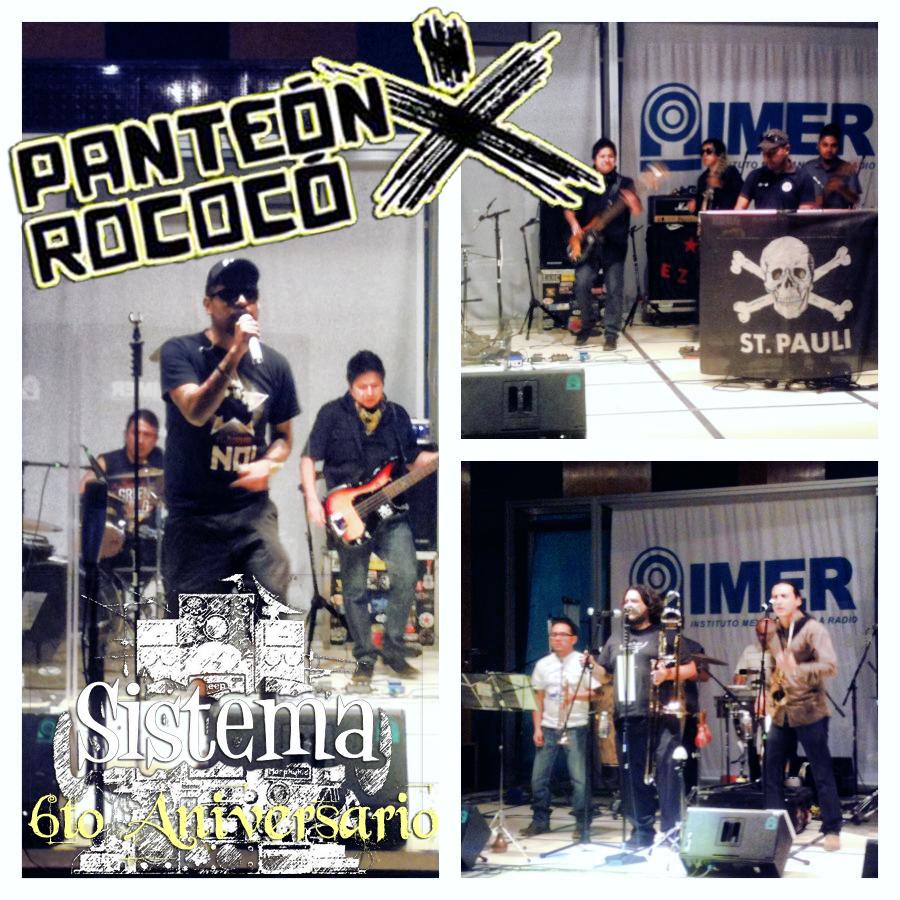 Panteón Rococó - Sesión Sistema (6to Aniversario) (2013)