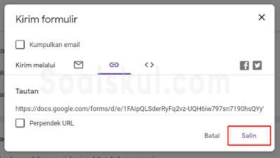 langkah 1 merubah link gform ke bit.ly no custom