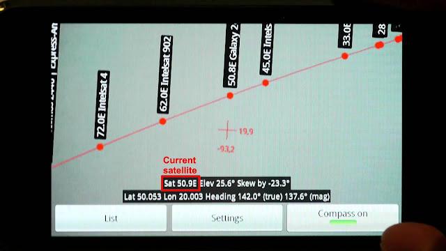تطبيق التقاط اشارة الاقمار للاندرويد بدون الإستعانة بأي شخص أخر