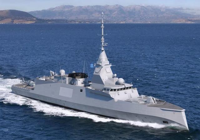 Hy Lạp ký MoU cho 3 tàu khu trục FDI của Pháp