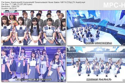 Hinatazaka46 'Doremisolasido' Music Station 190719 (TV Asahi)