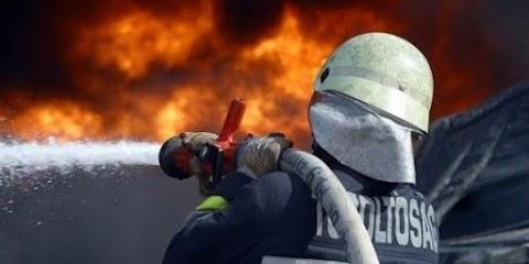 Kigyulladt egy garázs Balmazújvárosban