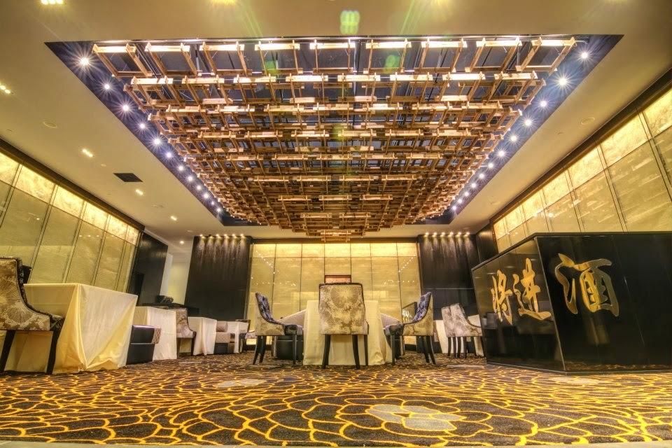 grand big square ceiling lights