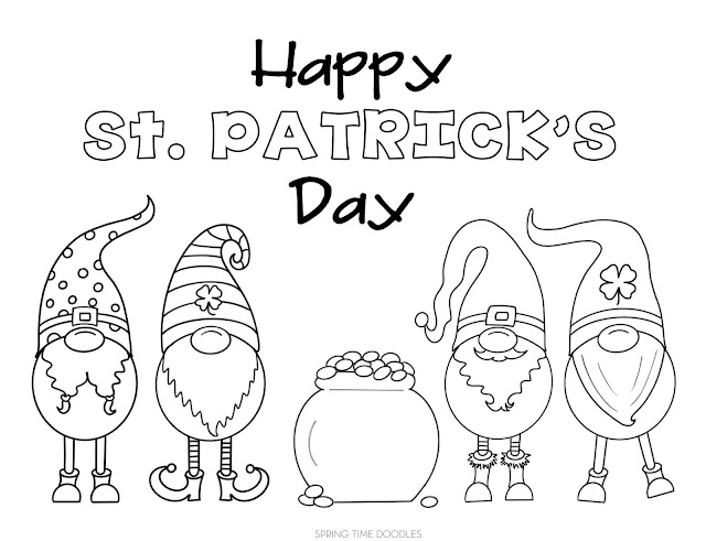 St Patrick S Day 2020 Free Coloring Pages
