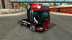 Karbon style skin for Scania RJL by EviL
