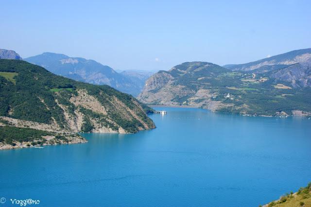 Splendida vista sul lago di Serre Poncon