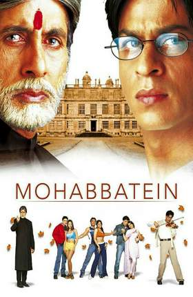 Mohabbatein 2000 Hindi 600MB BRRip 480p
