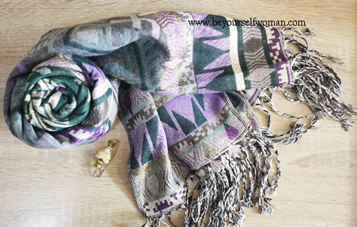 5 Easy DIY Pashmina Refashion Ideas