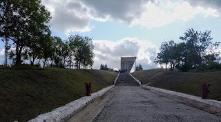 Изюм. Гора Кременец. Воинский мемориал