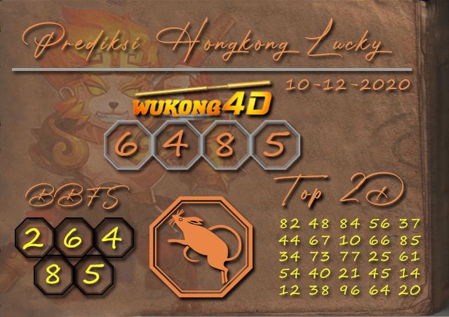 PREDIKSI TOGEL HONGKONG LUCKY 7 WUKONG4D 10 DECEMBER 2020