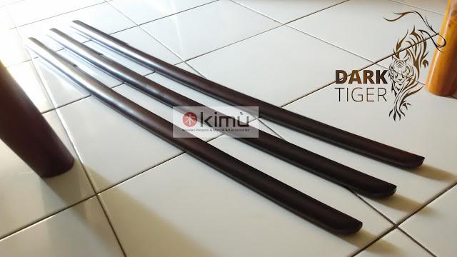 KIMU Collections: Dark Tiger Bokken (Pedang Kayu Sawo)