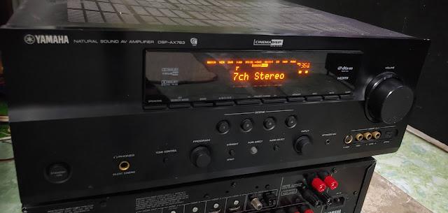 Ampli 5.1 dts - Ampli stereo - Đầu MD làm DAC - Đầu CDP - Sub woofer v.v.... - 9