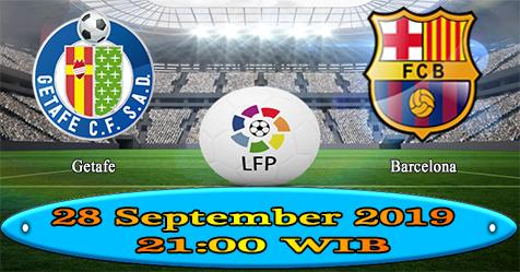 Prediksi Bola855 Getafe vs Barcelona 28 September 2019