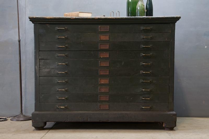 2birdstone: Before + After: Flat File Cabinet