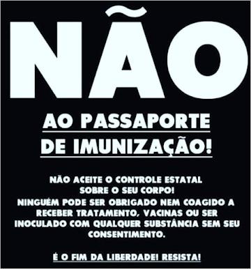 """""""Passaporte de imunização"""": coagir, restringir, discriminar e criminalizar o direito de ir e vir"""