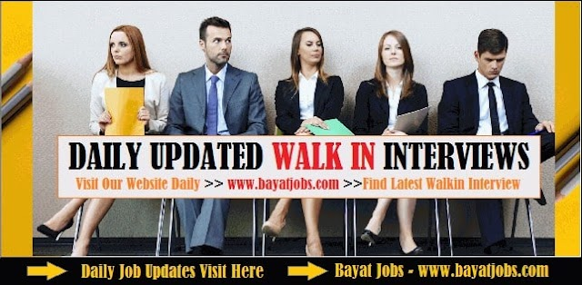 Walk in Interview in Dubai Today & Tomorrow (Oct 2020)