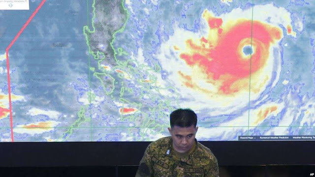 Super Typhoon Mangkhut to Hit Philippines, Southeast Asia