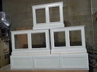 Radiator covers and bunk bed base