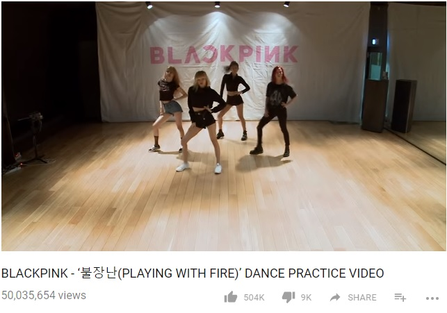 Black Pink Hits 50 Million Views With Playing With Fire