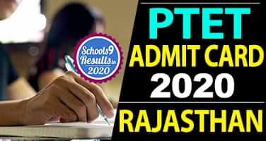 Rajasthan_PTET_Admitcard_2020