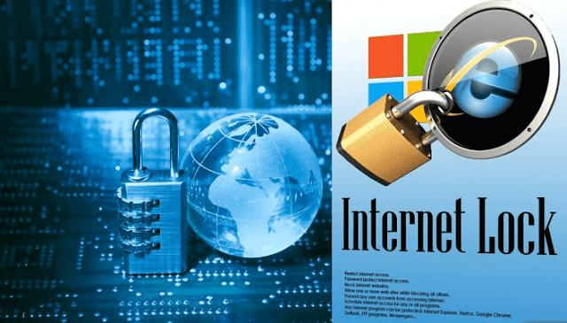 برنامج Internet Lock لقفل النت وكل برامج التصفح على جهازك