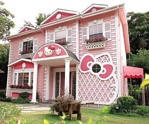 My Future House Only In Pink And Purple Not Just Alone