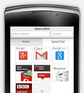 Opera Mini Screenshot