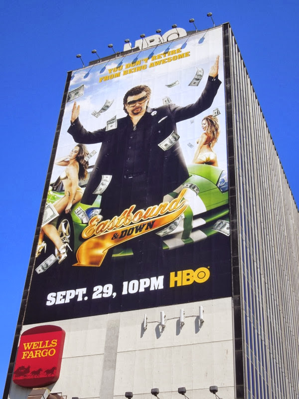 Giant Eastbound & Down season 4 billboard