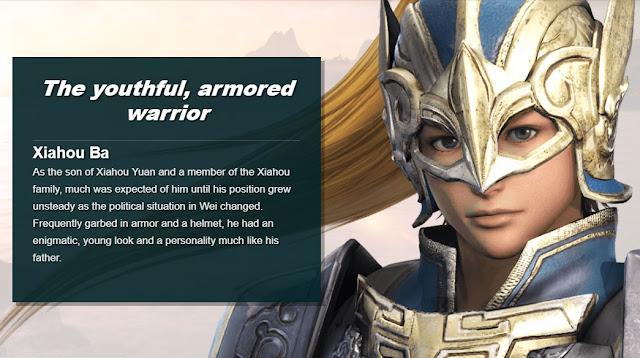 แฮหัวป๋า (Xiahou Ba) จากเกมสามก๊ก Dynasty Warriors 9
