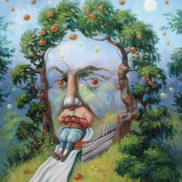 Wajah Isaac Newton