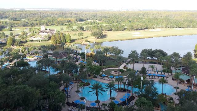 Landscape view of JW Marriott Orlando