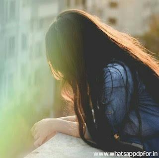 sad dpz with quotes, sad alone girl dpz