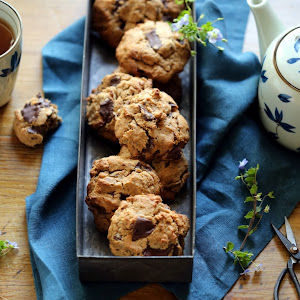 dans la cuisine de sophie: whoopies matcha chocolat et le nouveau