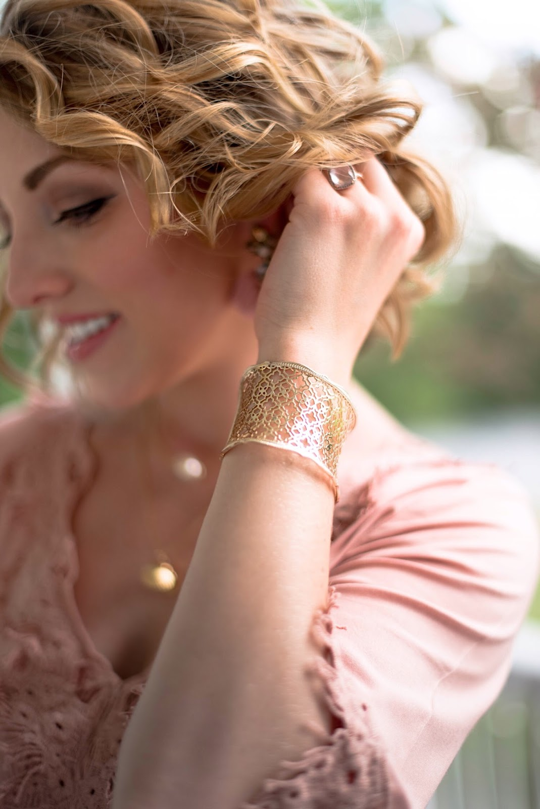 Kendra Scott Cuff - Click through to see more on Something Delightful Blog!
