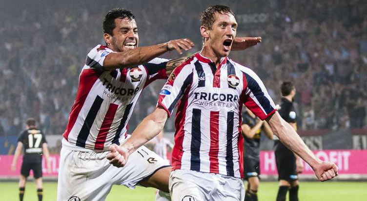 Willem II vs Roda JC www.nhandinhbongdaso.net