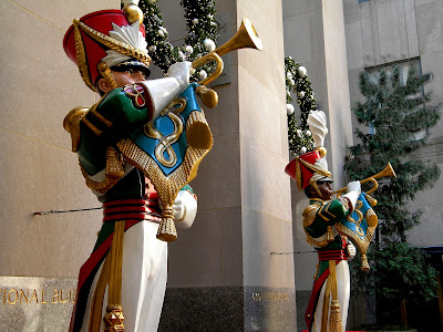 Toy soldiers Rockefeller Center