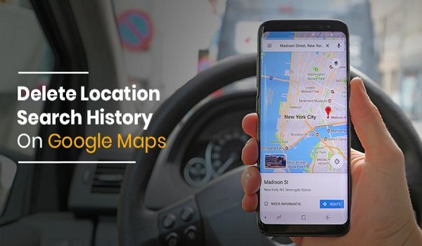 HOW TO AUTO-DELETE LOCATION HISTORY ON GOOGLE MAPS