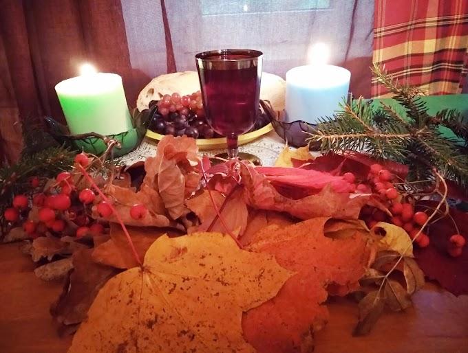 Отмечаем Мабон 23 сентября, простой в исполнении ритуал на богатство, а также гадание