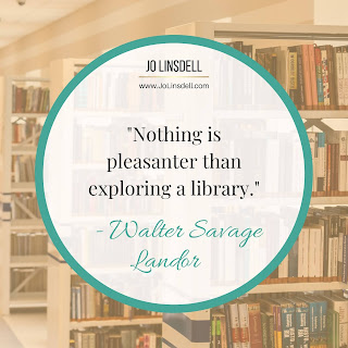 """Nothing is pleasanter than exploring a library."" - Walter Savage Landor"