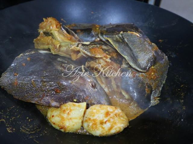 Gulai Ikan Duri Masin Versi Bonda Saya