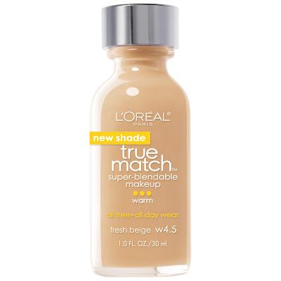 L'Oreal True Match Foundation in Warm Beige Shade