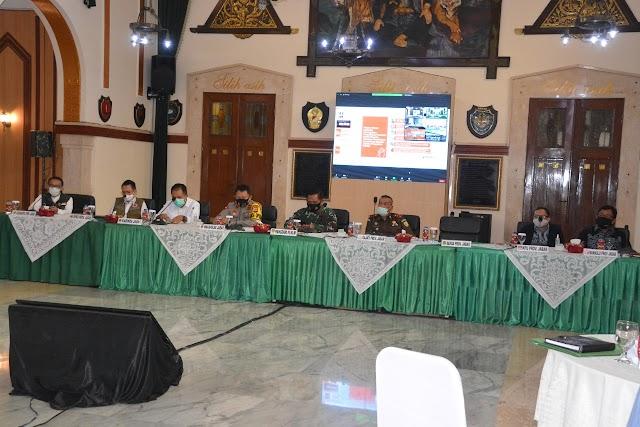 Pangdam III/Slw Ikuti Rakorsus Tingkat Menteri, KPU Pusat :58 Cakada  Terpapar Covid-19
