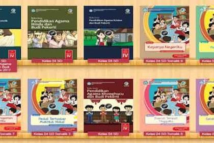 Buku Paket Kelas 4 SD Tahun 2020 Semua Pelajaran